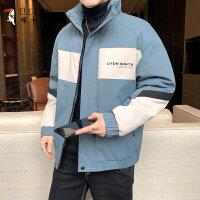 啄木鸟 棉衣男装2020年新款外套秋冬季加绒加厚羽绒棉服韩版潮流潮牌08427