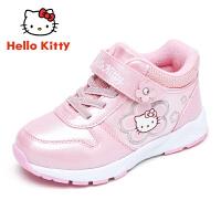 【到手价:109元】HELLO KITTY凯蒂猫童鞋女童棉鞋2019春秋新款女孩休闲鞋儿童运动鞋潮K8548835