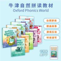 新APP版4-12岁牛津自然少儿拼读教材套装 Oxford Phonics World L1-5 Student Book+Workbook with APP Code [学生用书+练习册+APP]