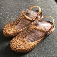 夏季女士凉拖果冻女鞋沙滩鞋洞洞鞋花园鞋包头拖鞋凉拖鞋塑料鞋女