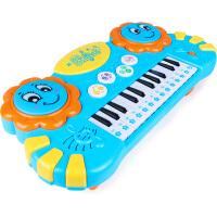 儿童电子琴手拍鼓二合一0-3岁 婴幼儿益智宝宝小男女孩钢琴玩具