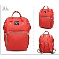 妈咪包双肩包韩版多功能母婴包时尚宝妈背包外出旅行大容量妈妈包