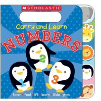 Carry and Learn Numbers Board Book( 货号:9780545797900)