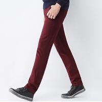 【1.5折价46.4元】唐狮冬款男弹力修身小脚休闲长裤