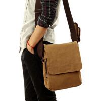 男士商务包韩版帆布包 男包休闲单肩包斜挎包背包潮小包