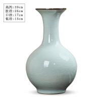 陶瓷花瓶摆件仿古瓷器花插复古中式现代简约客厅酒柜装饰品
