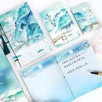 【开学文具套装超值大礼包】开学季礼物古风笔记本子便签日记事本