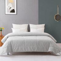 水星家纺 抗菌防螨七孔夏被空调被芯素色薄被子床上用品 艾芮丝