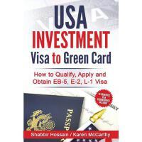 【预订】USA Investment Visa to Green Card: How to Qualify, Appl