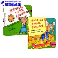 #如果你给老鼠吃饼干系列 廖彩杏书单 英文原版绘本 If You Give a Mouse Cookie and Sc