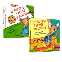 如果你给老鼠吃饼干系列 廖彩杏书单 英文原版绘本 If You Give a Mouse Cookie and Sch
