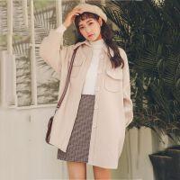 韩版学生小个子毛呢外套女冬中长款2018冬季新款呢子大衣秋冬款
