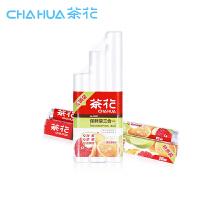 茶花保鲜袋+保鲜膜2件套餐 点断式环保食品袋连卷袋大中小3合1