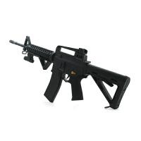 电动连发M6A4水晶珠弹枪M4A可发射仿真水珠弹抢M46玩具下供弹水晶弹 标准配置