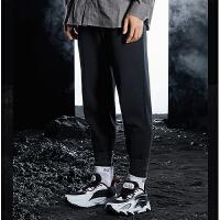 【大牌折后价:159/叠90元券】361度男士针织长裤2021年春季新款运动裤休闲