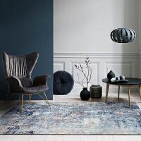 轻奢欧式地毯客厅卧室房间满铺地毯黑科技免洗家用地垫茶几床边毯
