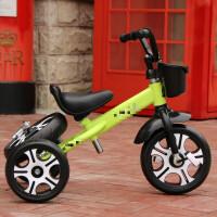 三轮儿童车多功能脚踏车宝宝自行车漂移车4-8岁玩具车QL-53 红色 米奇轮两用大弯把