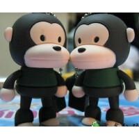 日照鑫 可爱时尚卡通U盘 迷你可爱个性大嘴猴U盘 8G