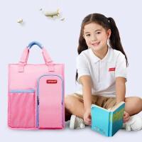 学生手提袋拎书袋儿童补课包手提书袋学习袋女孩补习包袋