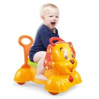 宝宝学步车手推车婴儿助步学走路多功能防侧翻可坐可推玩具 学步车推车二合一