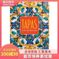 【特惠包邮】Tapas 餐前小吃 英文原版餐饮食谱 西班牙塔帕斯下酒菜