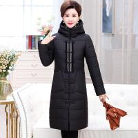中老年女装冬装棉衣中年人冬季棉袄40岁50妈妈羽绒中长款外套