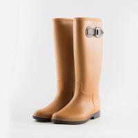 轻量简约时尚雨鞋女雨靴夏季高筒水靴防滑胶鞋女士水鞋