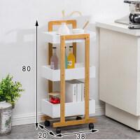 带轮厨房置物架落地多层收纳架子蔬菜用品用具小百货筐卧室神器