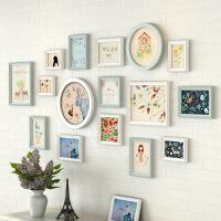 实木照片墙简约现代挂墙相框墙创意组合客厅卧室欧式相片墙