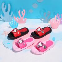 【3折价:35.7元】Hello Kitty 凯蒂猫儿童凉拖鞋女童软弹舒适卡通拖鞋 KE281085