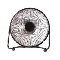 小太阳取暖器 迷你便携桌面小太阳取暖器办公家用学生暖身节能电暖器 黑色 8寸