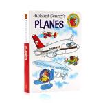 斯凯瑞童书 飞机 英文原版 Richard Scarry's Planes 认知词汇书 纸板撕不烂书 单词启蒙亲子绘本