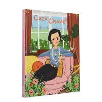 Coco Chanel (Genius) 天才可可・香奈儿 英文原版儿童艺术启蒙6-12