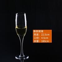 无铅水晶玻璃香槟杯红酒杯葡萄酒杯套装鸡尾酒杯高脚杯
