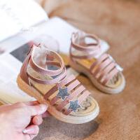 2019新款宝宝鞋子1-3岁婴儿学步鞋软鞋小童公主鞋夏季女童凉鞋