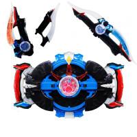 罗布奥特曼光轮 罗布奥特曼变身器玩具水晶头镖萝卜召唤器头标人偶套装合光轮