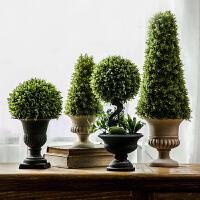 仿真植物装饰北欧绿植室内盆栽客厅摆件假花卉多肉小盆景家居摆设