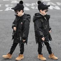 儿童棉袄中长款厚冬季外套童装男童棉衣新款冬装