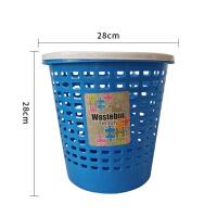 炫彩方形家用小垃圾桶桌面迷你垃圾桶储物桶收纳桶塑料垃圾桶无盖