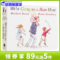 【89选5】# 【包邮】廖彩杏英文英语绘本0 3 6岁 进口原版 We're Going on a Bear Hunt