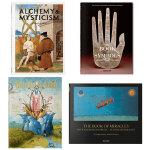 【TASCHEN出版】 符号学 神秘主义 炼金术 中世纪稀奇绘画 4册套装礼装 博斯Bosch 英文原版进口 艺术图书