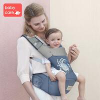 babycare海洋系列背带 婴儿背带刺绣宝宝前抱式 四季通用抱娃神器