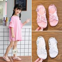 2019夏季新款时尚女童凉鞋韩版学生休闲儿童鞋软底凉鞋
