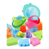 儿童沙滩玩具铲子套装大号婴儿洗澡玩具宝宝挖沙玩沙工具男孩女孩男孩儿童宝宝玩具