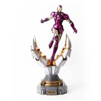 漫威官方正品 漫威复仇者 女钢铁侠1/6雕像 二次元动漫周边摆件