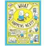【预订】【T&H】What Happens Next?接下来会发生什么?吉竹伸介绘本 英文原版绘本