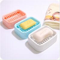浴室沥水双层肥皂盒 创意塑料旅行香皂盒手工皂托肥皂架