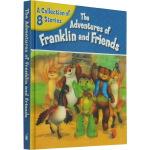 英文原版 Franklin and Friends 小乌龟富兰克林和朋友们8个故事精装合辑 儿童绘本
