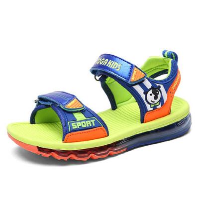 2019夏季新款男童凉鞋韩版中大童童鞋儿童沙滩鞋男孩学生软底鞋