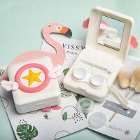 六一儿童节520凯达隐形近视眼镜盒自动清洗器 自动usb电动清洗机可爱女csyy520礼物母